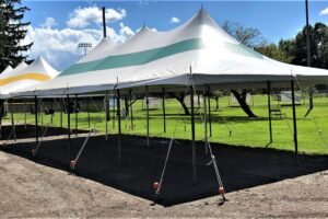 20 x 40 standard tents @ bergman park
