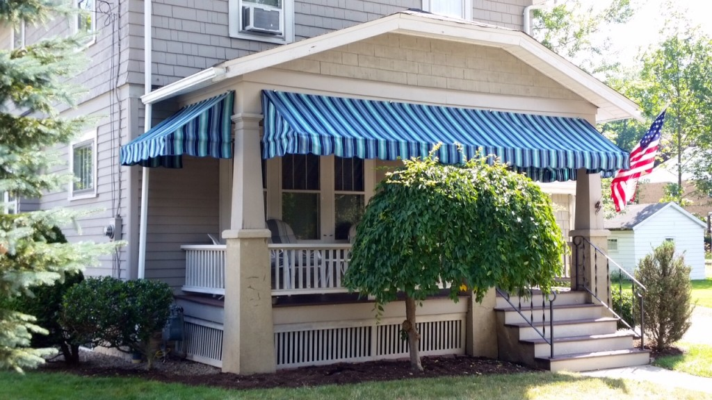 Porch And Valance Awnings Jamestown Awning And Party Tents